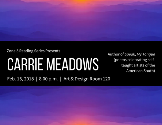 Carrie Meadows Reading 2/15/18